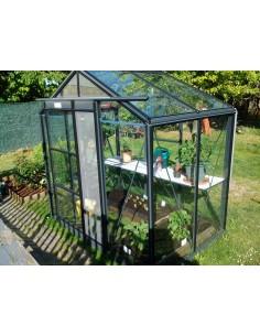 Serre Serranova 22 ACD 3.5 m² en verre trempé sécurit 4 mm