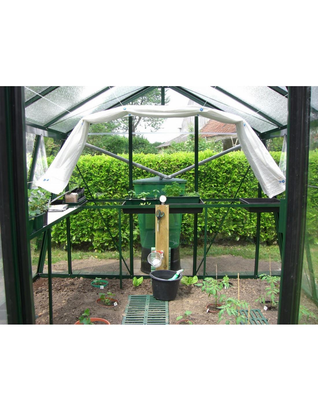 Toile d 39 ombrage pro au choix pour serre acd serres et abris - Accessoires serre de jardin ...