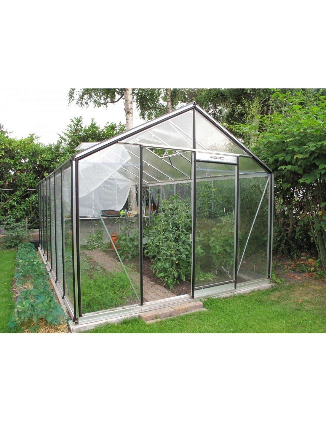 serre r307h b acd 15 88 m verre tremp s curit parois droites. Black Bedroom Furniture Sets. Home Design Ideas