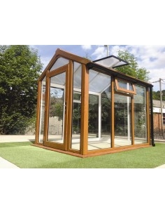 Serravida IONA ACD 5.2 m² - Profils en PVC + Double-vitrage isolant de 24 mm