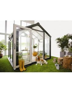 Serravida SKYE ACD 6.8 m² - Profils en PVC + Double-vitrage isolant de 24 mm