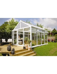 Serravida CRETE ACD 12.8 m² - Profils en PVC + Double-vitrage isolant de 24 mm