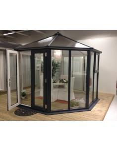Serravida EVIA ACD 8.2 m² - Profils en PVC + Double-vitrage isolant de 24 mm