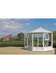 Serravida SYLT ACD 6 m² - Profils en PVC + Double-vitrage isolant de 24 mm