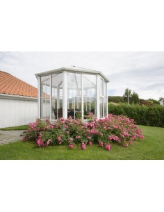 Serravida GOZO ACD 8.2 m² - Profils en PVC + Double-vitrage isolant de 24 mm