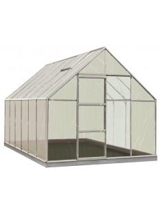 Serre Oliver ACD 9.9 m² en polycarbonate de 6 mm - Coloris au choix