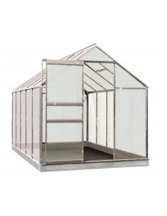 Serre Lily ACD 6.2 m² en polycarbonate de 4 mm - Coloris au choix