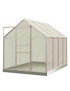 Serre Ivy ACD 5 m² en polycarbonate de 4 mm - Coloris au choix