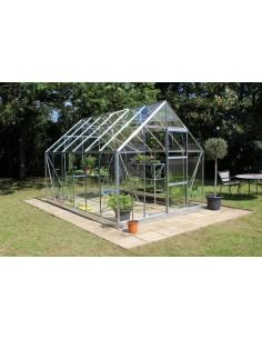 Serre de jardin Universal 9,9 m² - Verre horticole de 3 mm