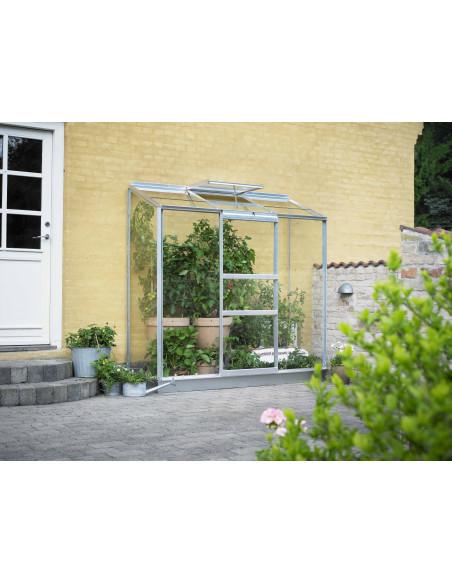 Serre Altan 3 HALLS 1.3 m² en verre 3 mm