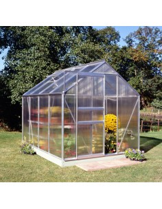 Serre de jardin Popular 5 m² - Polycarbonate de 4 mm