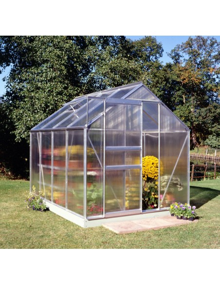 Serre Popular HALLS 5 m² - Polycarbonate de 4 mm