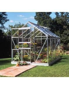Serre de jardin Popular 5 m² - Verre horticole de 3 mm