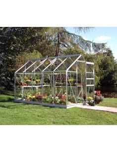 Serre de jardin Popular 6,2 m² - Verre horticole de 3 mm