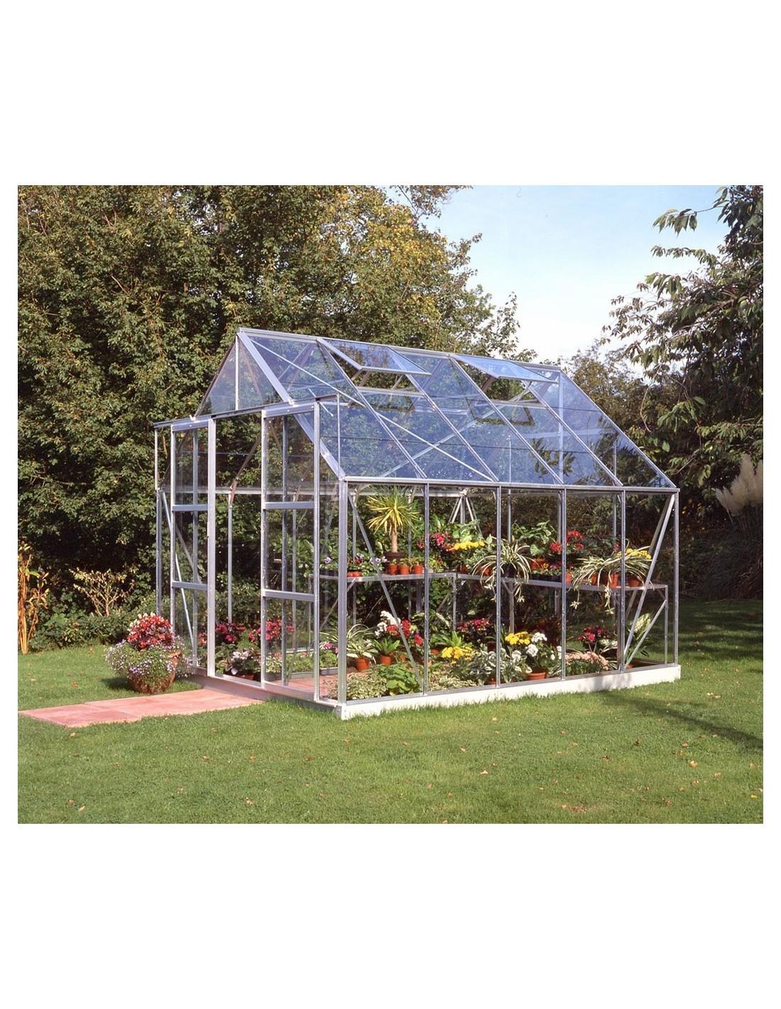 serre de jardin magnum 8 3 m verre tremp s curit de 3 mm. Black Bedroom Furniture Sets. Home Design Ideas