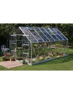 Serre de jardin Magnum 11,5 m² - Verre trempé sécurit de 3 mm