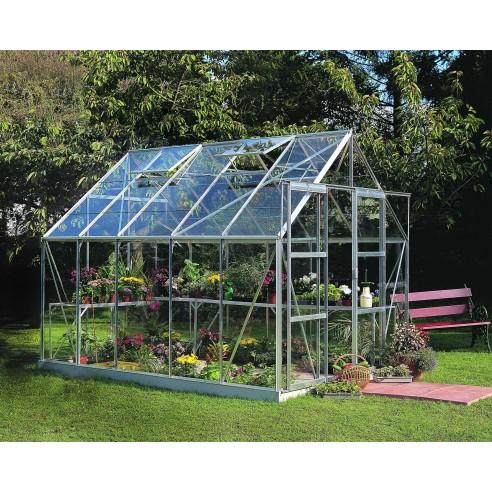 Serre de jardin Magnum 8,3 m² - Verre horticole de 3 mm