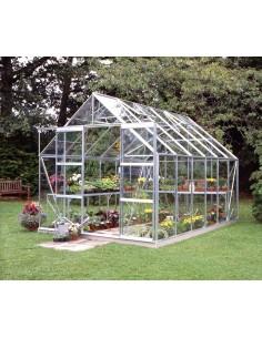 Serre de jardin Magnum 9,9 m² - Verre trempé sécurit de 3 mm