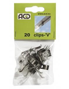 Clips en V ACD pour tous types de serres