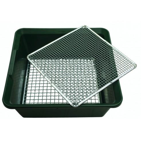 Tamis avec 2 grilles ACD (épaisse et fine)