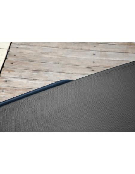 Bain de soleil prima 5 positions aluminium et toile TPEP - Proloisirs