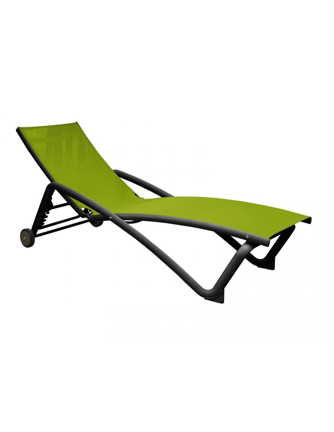 bain de soleil zo empilable en aluminium et toile tpep proloisirs. Black Bedroom Furniture Sets. Home Design Ideas