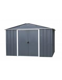 Abri de jardin métal 9.03 m² au choix - Anthracite