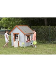 Maisonnette Little en bois - Bois massif  19 mm