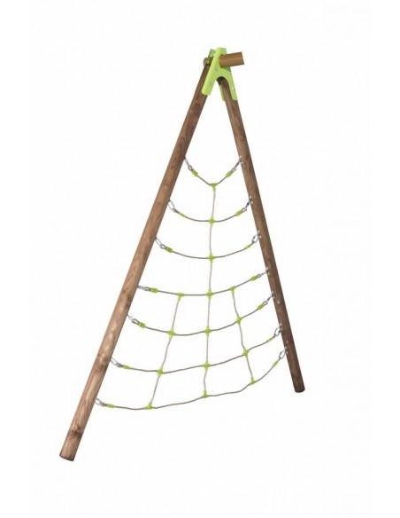 Module pirate Spider pour tous portiques de jeux en bois