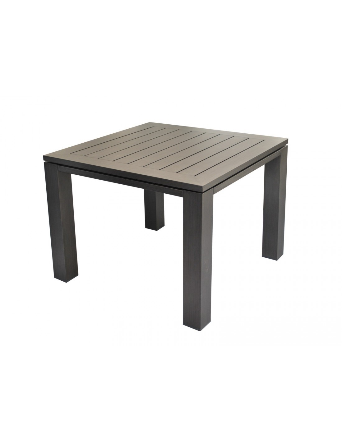Beautiful table de jardin aluminium perforee gallery - Table jardin aluminium avec rallonge ...