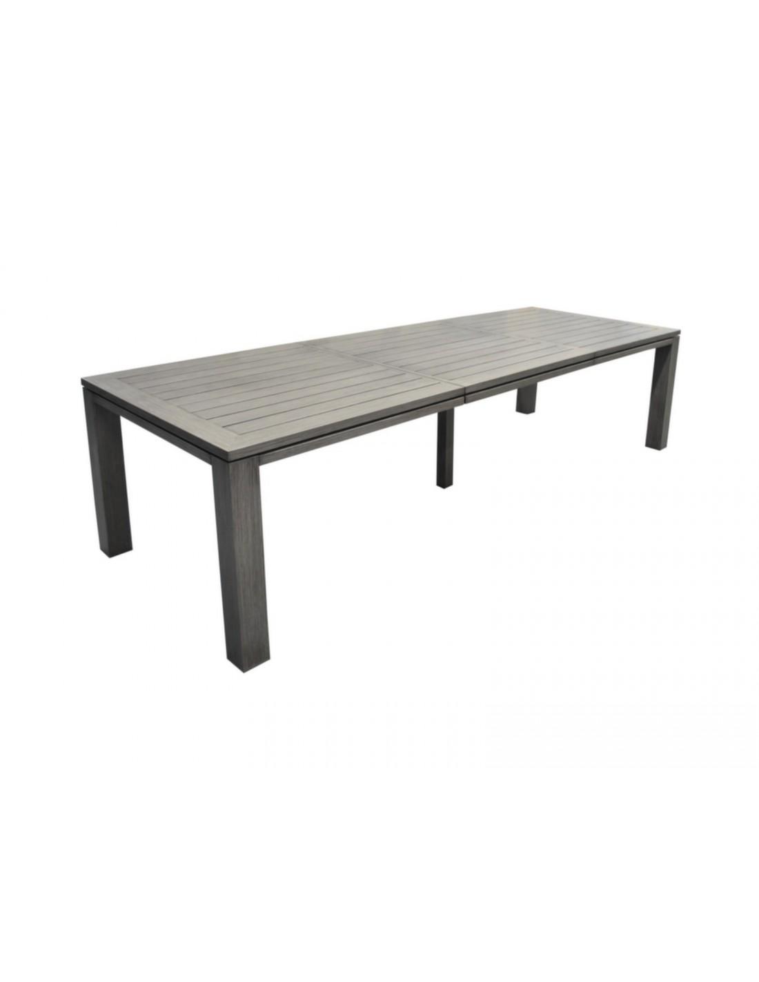 table de jardin latino extensible coloris au choix proloisirs. Black Bedroom Furniture Sets. Home Design Ideas