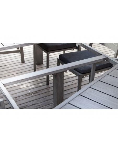 Table de jardin Latino 180/240 x 98 cm extensible - Proloisirs