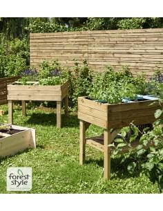 Jardin à épices Marilou en bois 100x100xH80 cm