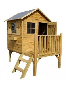 cabane enfant en bois cabane de jardin enfant maison de jardin enfant avec serres et abris. Black Bedroom Furniture Sets. Home Design Ideas