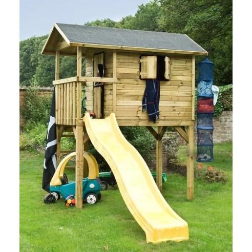 maisonnette wistler park pour enfants avec toboggan m. Black Bedroom Furniture Sets. Home Design Ideas