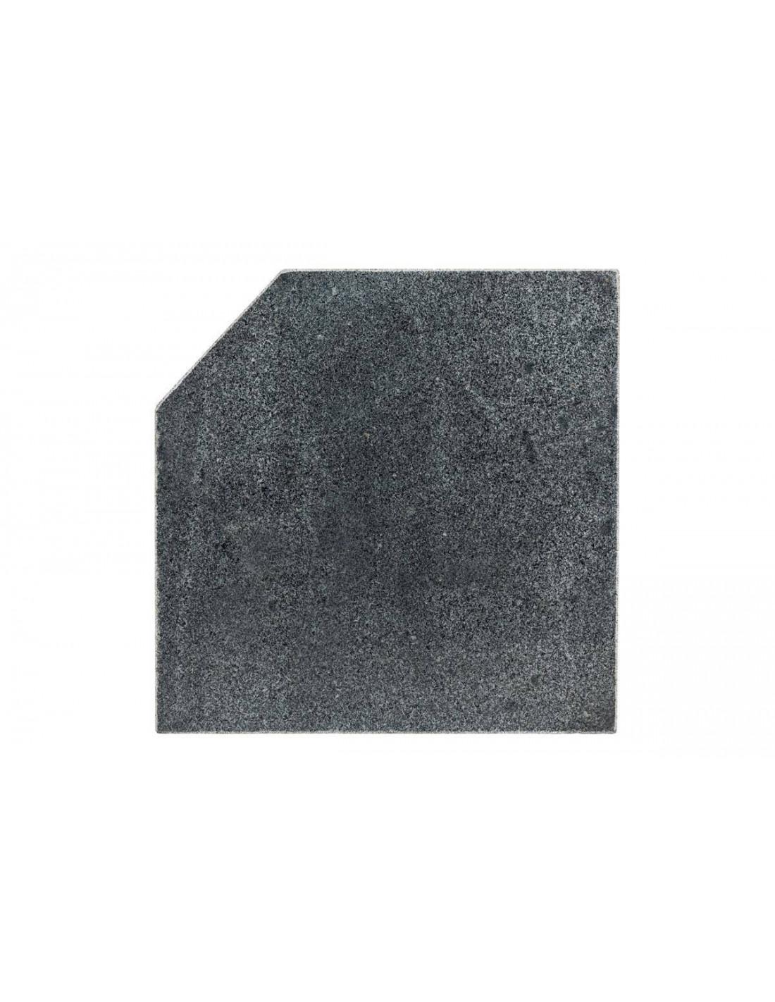 dalle pour parasol d port 28 5 kg marbre hesp ride. Black Bedroom Furniture Sets. Home Design Ideas