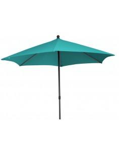 Parasol Push 420 cm en aluminium - Ocèo