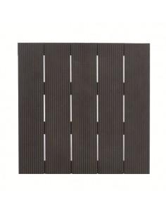 Univers du jardin meubles de jardin pergolas terrasses etc serres et abris - Dalle composite 50x50 clipsable ...