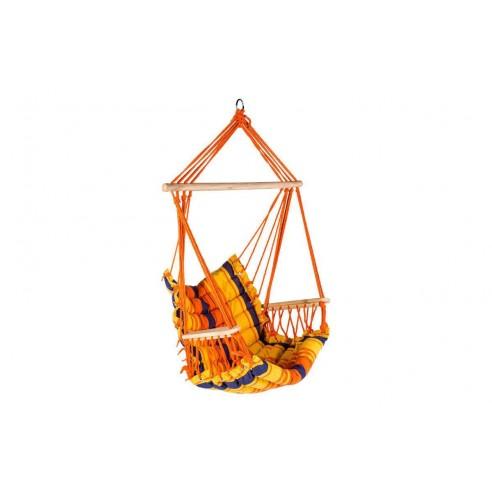 fauteuil suspendu antalya en polyester et bois hesp ride. Black Bedroom Furniture Sets. Home Design Ideas