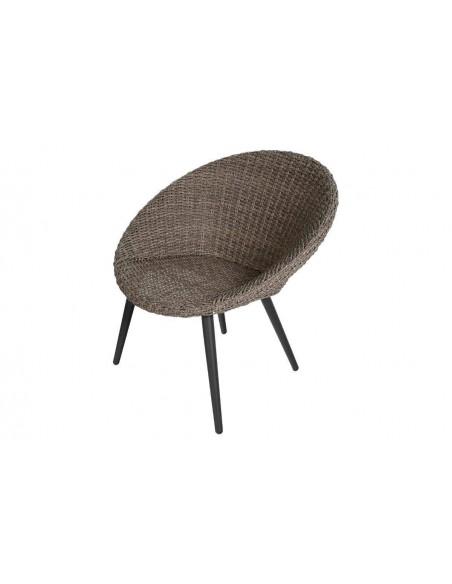 Salon de jardin Duo Canberra - 2 fauteuils et table basse - Hespéride