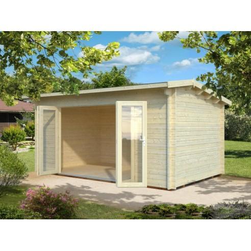 abri de jardin ines 14 4 m avec plancher serres et abris. Black Bedroom Furniture Sets. Home Design Ideas
