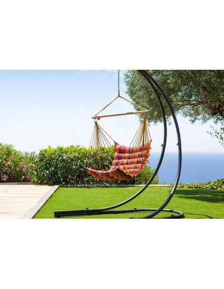 Support pour chaise suspendue - L.140 x P.150 x H.210 cm