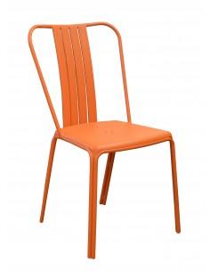 Chaise de jardin Azuro Aluminium Paprika - Proloisirs