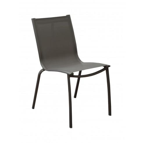 Chaise de jardin Linea - Aluminium...