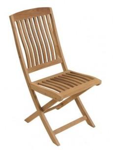 Chaise pliante Rias en bois de teck FSC - Proloisirs