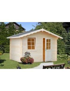 Abri de jardin Emma 4.8 m² - Bois massif 28 mm