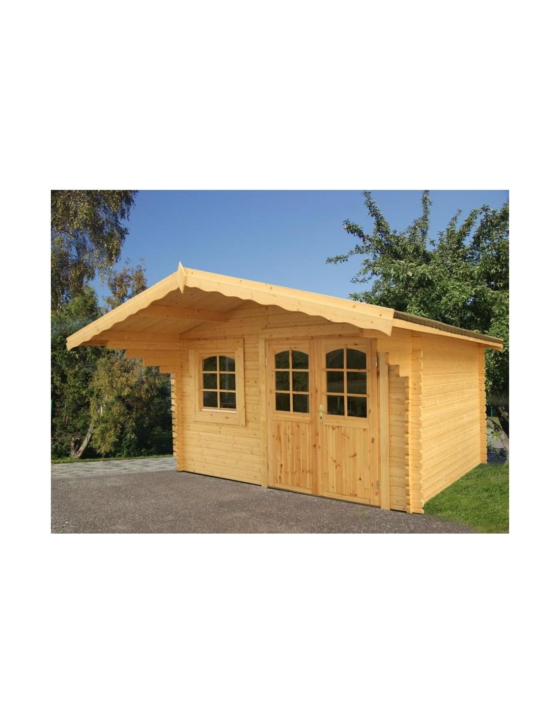 Abri de jardin sally 13 m avec plancher serres et abris - Abri de jardin avec plancher ...