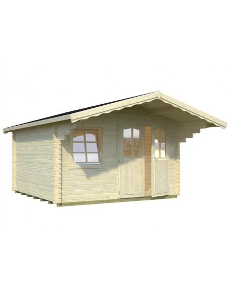 Abri de jardin sally 13 m avec plancher serres et abris - Abris de jardin avec plancher ...