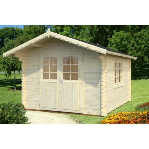 Abri de jardin sally 10 8 m avec plancher serres et abris - Abris de jardin avec plancher ...