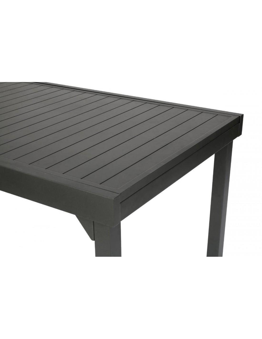 Table Piazza extensible 135/270 cm en Aluminium coloris au choix ...
